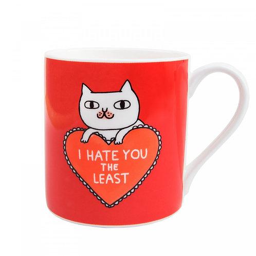 I Hate you Least Mug
