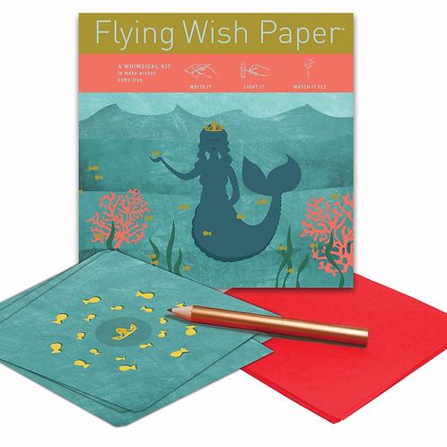 Mermaid Flying Wish Paper