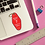 Thumbnail: Rosebud Motel Key Tag Sticker