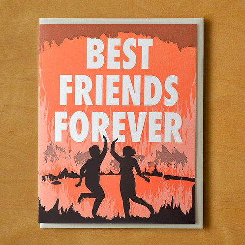BFF Hell Greeting Card