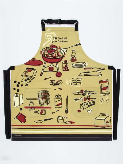 Feed All You Fuckers Kitchen Apron