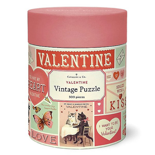 500 Piece Vintage Valentine's Puzzle