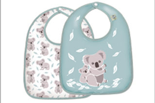 Koala Dining Bib Set of 2