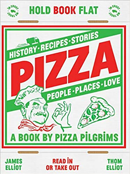 Pizza Hardcover History and Recipes Book
