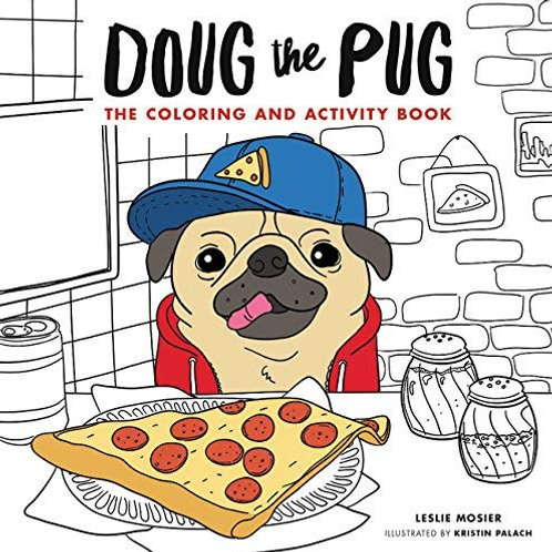 Doug The Pug Coloring and Activity Book