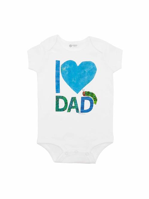I Love Dad 12M Onesie