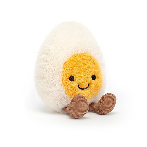 Amusable Boiled Egg Stuffed Animal