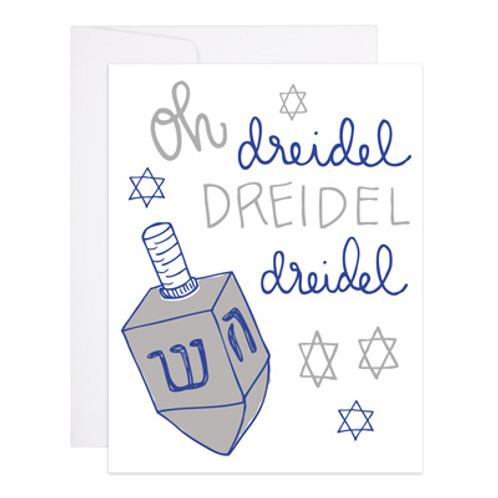 Oh Dreidel Greeting Card