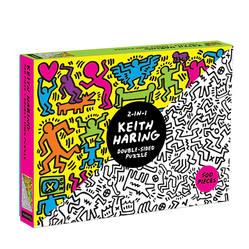 500 Piece Keith Haring Double Sided Puzzle