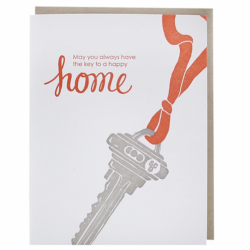 May You Always Have the Key to a Happy Home Greeting Card