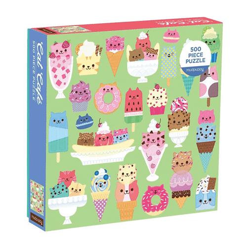 500 Piece Cat Cafe Puzzle