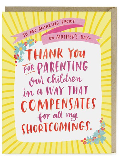 To My Amazing Spouse on Mother's Day