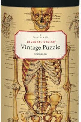1000 Piece Vintage Skeletal System Puzzle