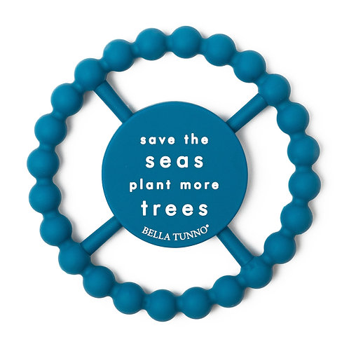 Save the Seas Plant More Trees Teether