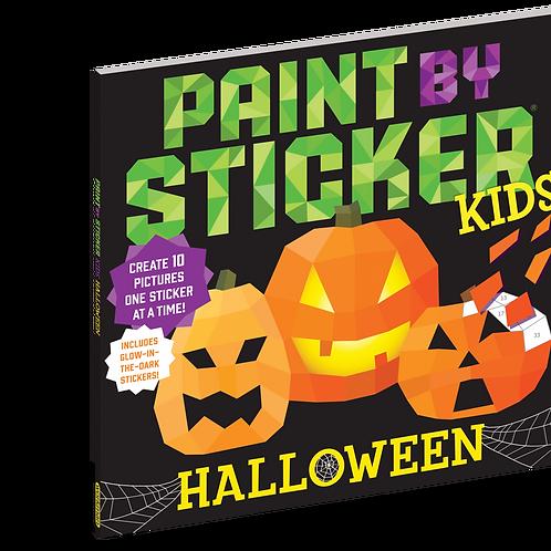 Paint By Sticker Kids Halloween