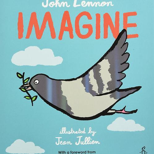 John Lennon's Imagine Hardcover Book