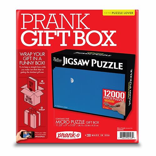 Micro Puzzle Prank Box