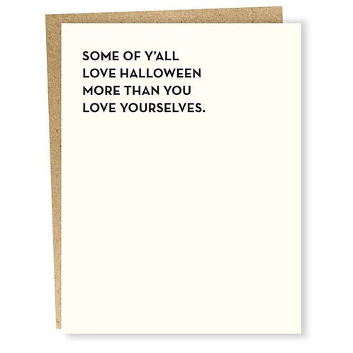 Some  of Ya'll Love Halloween
