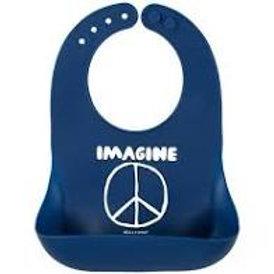 Imagine Peace Wonder Bib