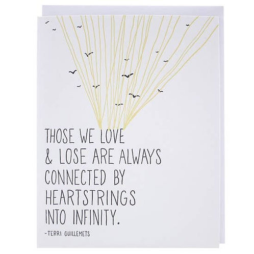 Heartstrings to Infinity Greeting Card