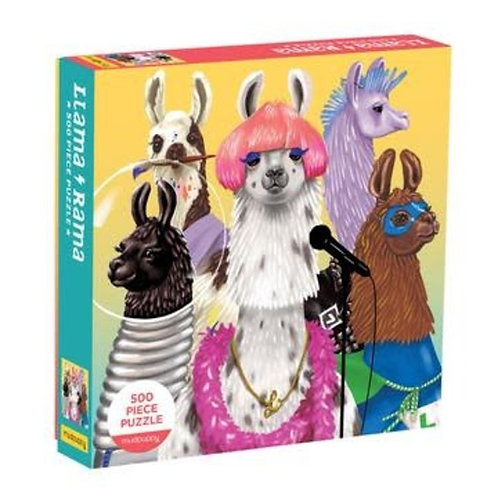 Llama Rama 500 Piece Puzzle