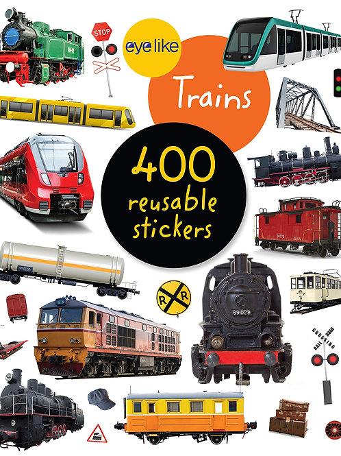 Eyelike Reusable Train Stickers