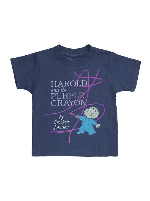 Kids 2Y Harold and Purple Crayon T-Shirt