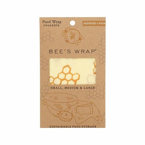 Assorted Honeycomb Bee's Wrap Reusable Food Wraps