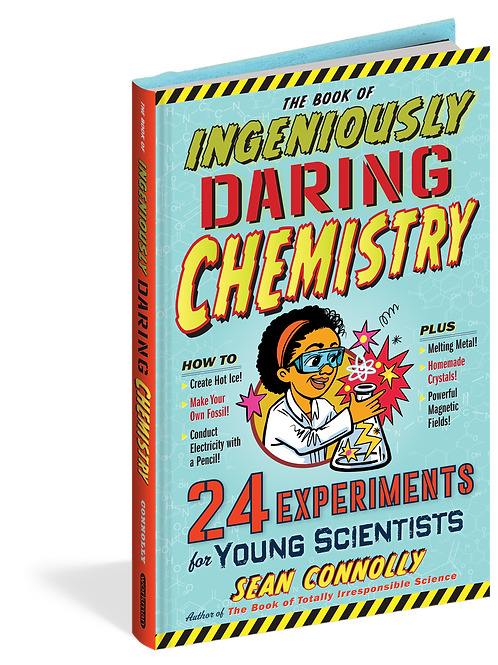 Book of Ingenious Daring Chemistry Experiments