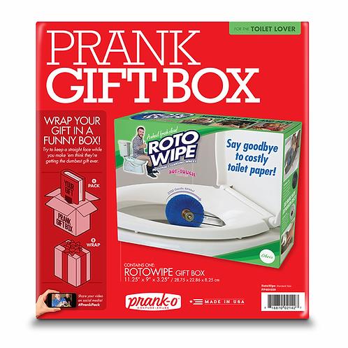 Roto Wipe Prank Box