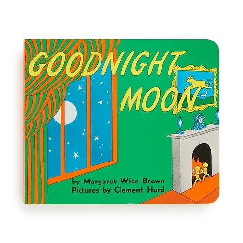 Goodnight Moon Board Book with Puffy Cover