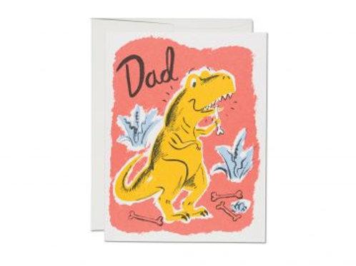 Dad T-Rex Greeting Card