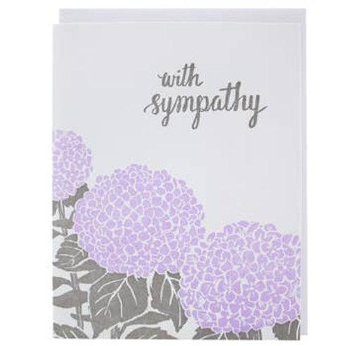 With Sympathy Hydrangea