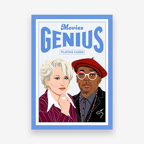 Movie Genius Playing Cards