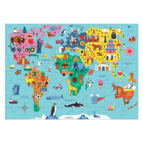 Map of the USA Geography Puzzle 70 piece