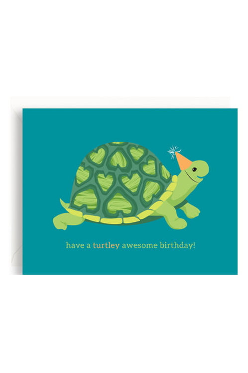 Have a Turtley Awesome Birthday Greeting Card