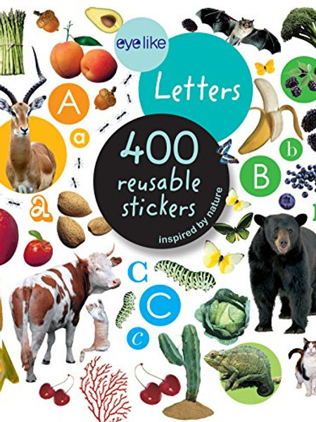 Eyelike Letters Reusable Stickers