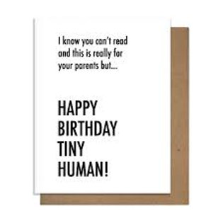 Happy Birthday Tiny Human