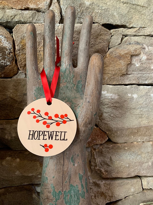Hopewell Berries Ornament