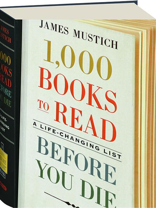 1000 Books to Read Before You Die