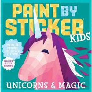 Unicorns & Magic Paint by Sticker Kids