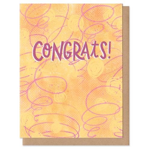 Congrats Colorful Greeting Card