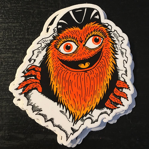 Gritty Single Sticker