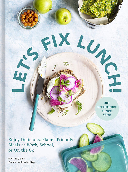 Let's Fix Lunch Hardcover Cookbook
