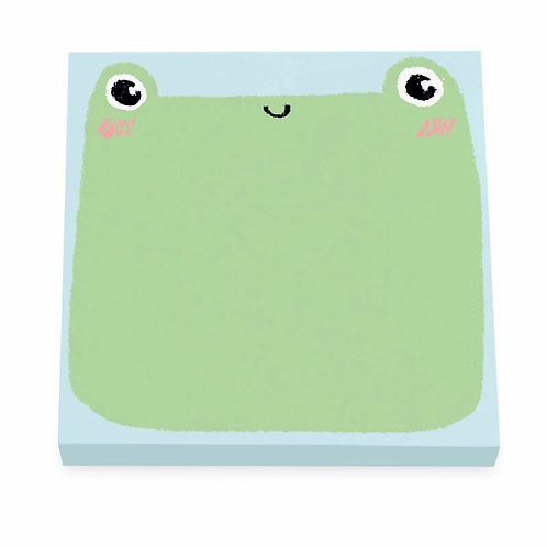 Cute Frog Stickynotes