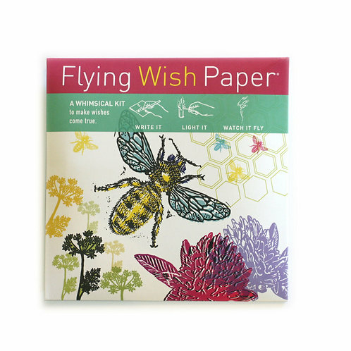 Just Bee Flying Wish Paper