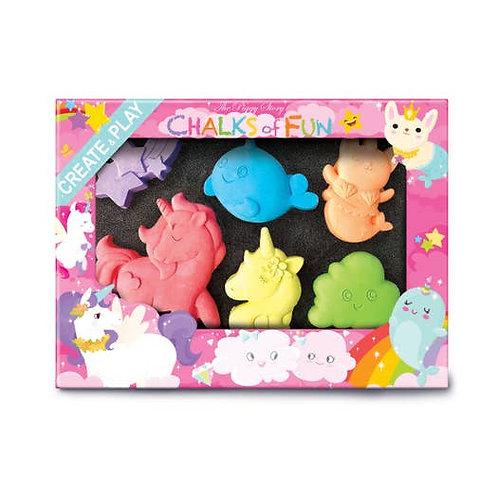 Chalks of Fun Unicorn Friends