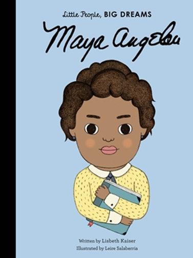 Little People Big Dreams Maya Angelou