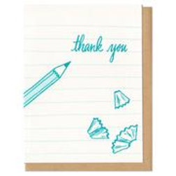 Thank You Pencils Greeting Card