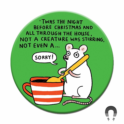 Holiday Mouse Magnet